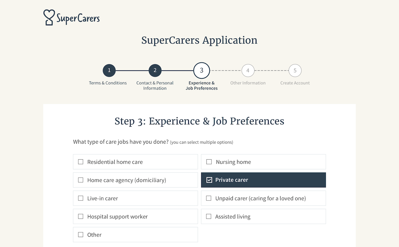 Private Care Jobs Throughout The UK - SuperCarers